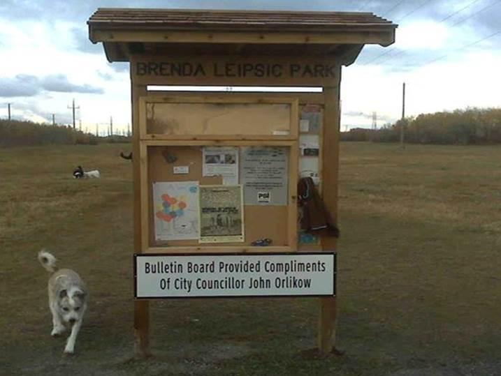 New Brenda Leipsic Dog Park
