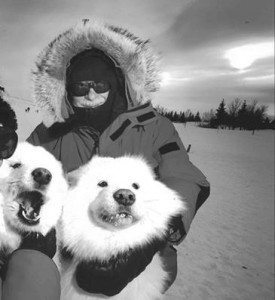 Winter Jeff and Dogs