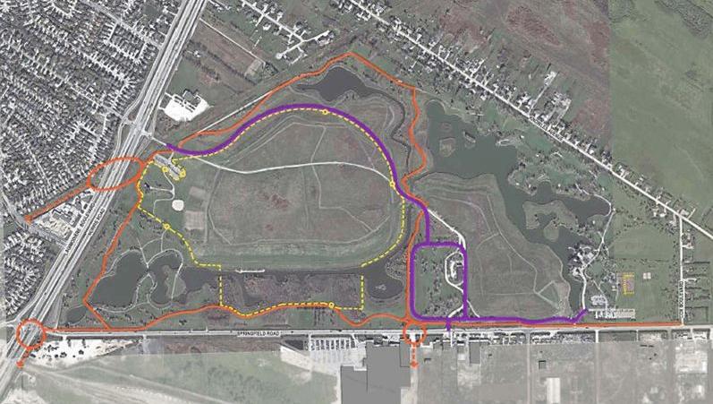 Kilcona Park Map Improvements July 31 2014